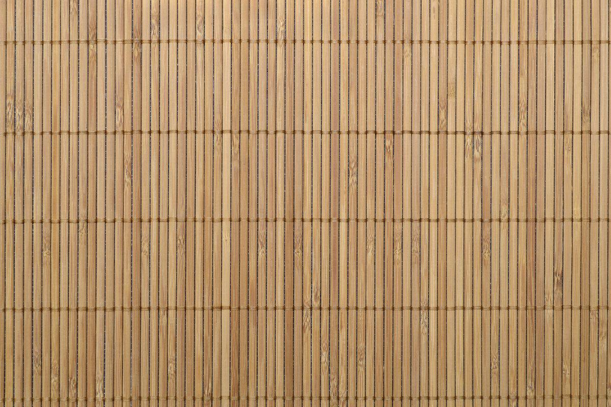 bamboe afsluiting mat