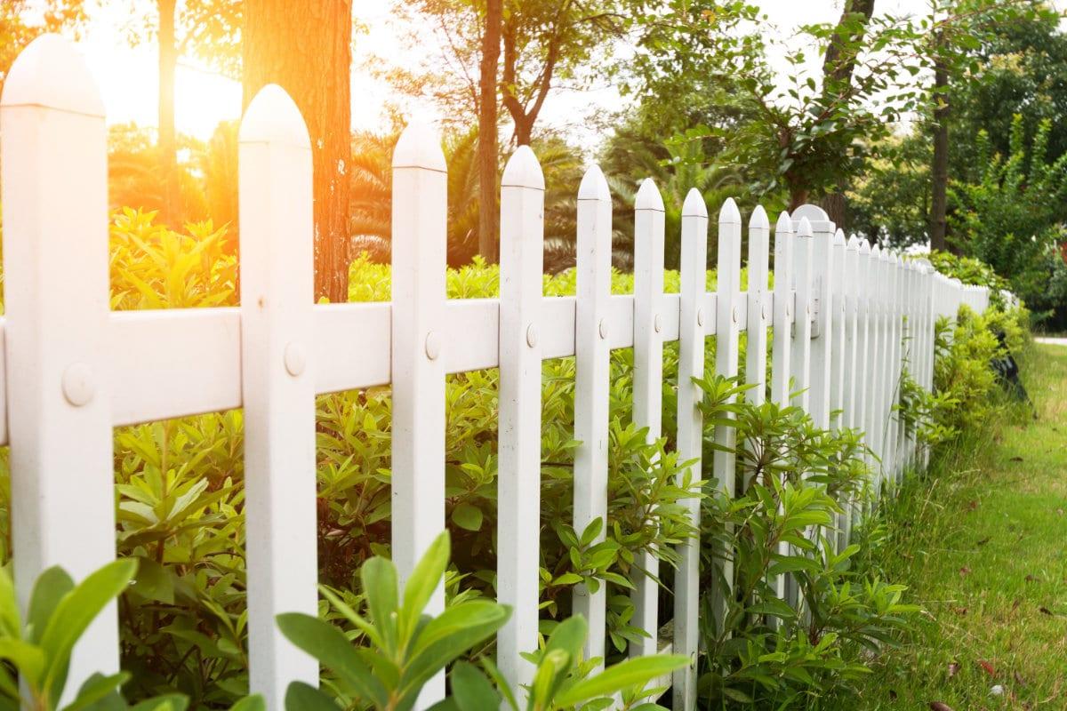 kunststof hek