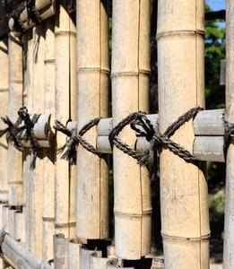 onderhoud bamboe afsluitingen