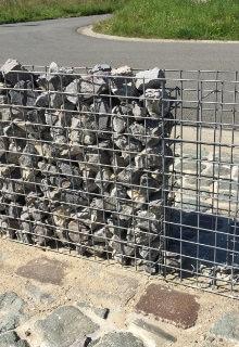 steenkorven tuinschutting