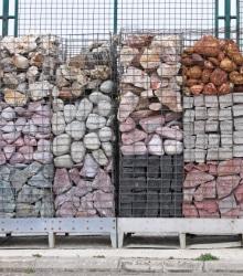 stenen voor schanskorven